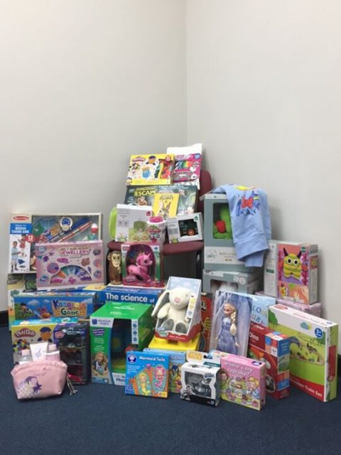 Interclass donations for Property for Kids