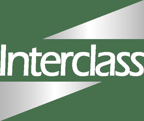 Interclass white logo