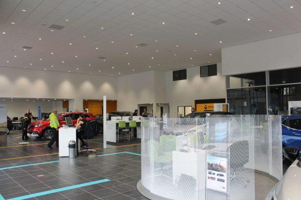 Car Showroom Extension